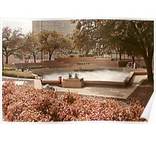 Fort Worth Water Gardens Poster