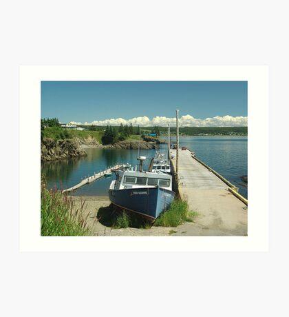 Scott's Bay, Nova Scotia Art Print