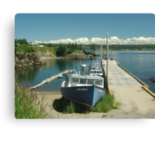 Scott's Bay, Nova Scotia Canvas Print