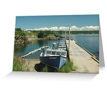 Scott's Bay, Nova Scotia Greeting Card