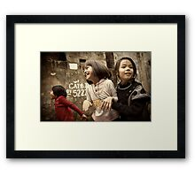 The Joys of Youth #0102 Framed Print