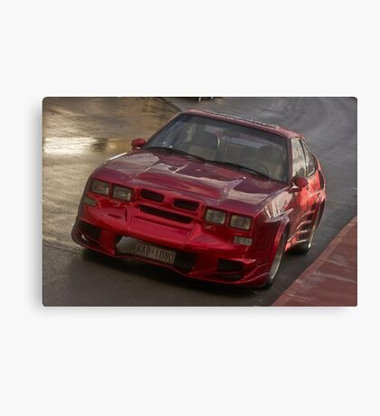 Red and wonderful morning . Bali. Greece. Cars . by Brown Sugar. Views (485) OK! ok! OK!!! Canvas Print