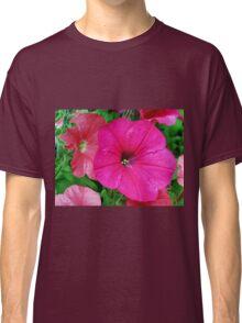 Vibrant Pink Petunia Macro Classic T-Shirt