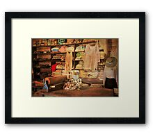 Bits and Bobs for Ladies Framed Print