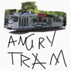 angry tram by Lochie Laffin Vines