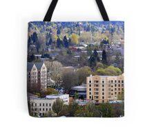Eugene, Oregon, City Scape Tote Bag