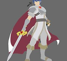 Marth (White) - Super Smash Bros. by samaran