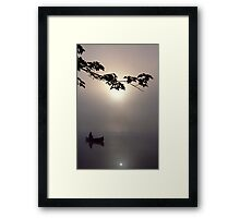 From out of the Mist Framed Print
