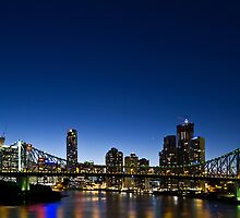 last night - story bridge  by Matt  Williams