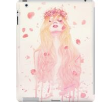 Floral head iPad Case/Skin