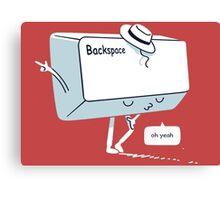 Michael Backspace Canvas Print