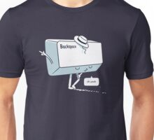 Michael Backspace Unisex T-Shirt