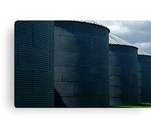 silos Canvas Print