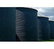 silos Photographic Print