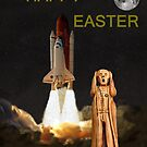 The Scream World Tour Space Shuttle Happy Easter by Eric Kempson