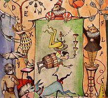 Cirque de Absurdite  by John Dicandia  ( JinnDoW )