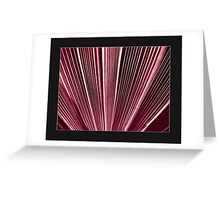 linear parallel Greeting Card