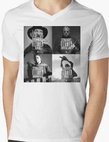 Horror Foursome Mens V-Neck T-Shirt