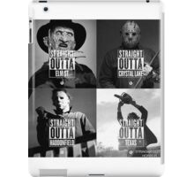 Horror Foursome iPad Case/Skin