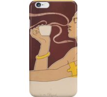 Henri Meunier Thé Rajah iPhone Case/Skin