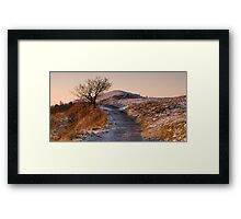Cold Dawn on Persevearance Hill Framed Print