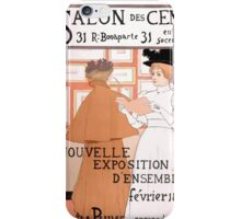 Armand Rassenfosse Salon affiche 2 Rassenfosse iPhone Case/Skin