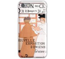 Armand Rassenfosse Salon affiche 2 Rassenfosse iPhone Case/Skin
