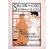 Armand Rassenfosse Salon affiche 2 Rassenfosse Photographic Print