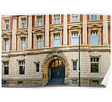 Government Departmental Buildings Poster