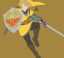 Link (Gold) - Super Smash Bros. by samaran