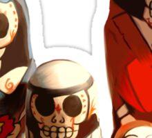 Sugar Skull Family Sticker