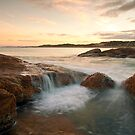Gyms beach waterfall by adouglas