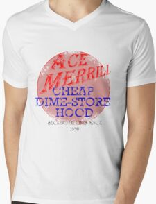 Ace Merrill Retro 1 Mens V-Neck T-Shirt