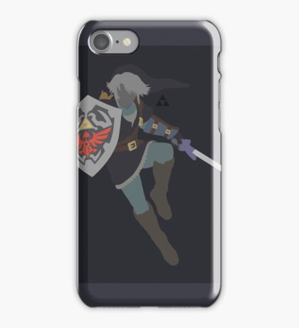 Link (Dark) - Super Smash Bros. iPhone Case/Skin