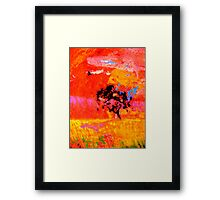 As The Crow Flys Framed Print