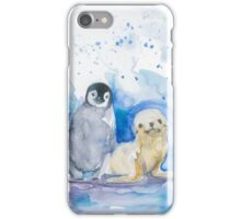 Seal and Penguin iPhone Case/Skin