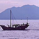 Fishing boat  Hong Kong waterways. by johnrf