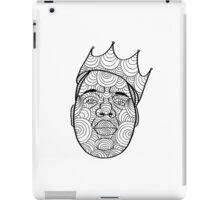 Biggie Smalls Mandala Design iPad Case/Skin