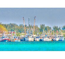 Fishing Boats, Cortez Village Florida Photographic Print