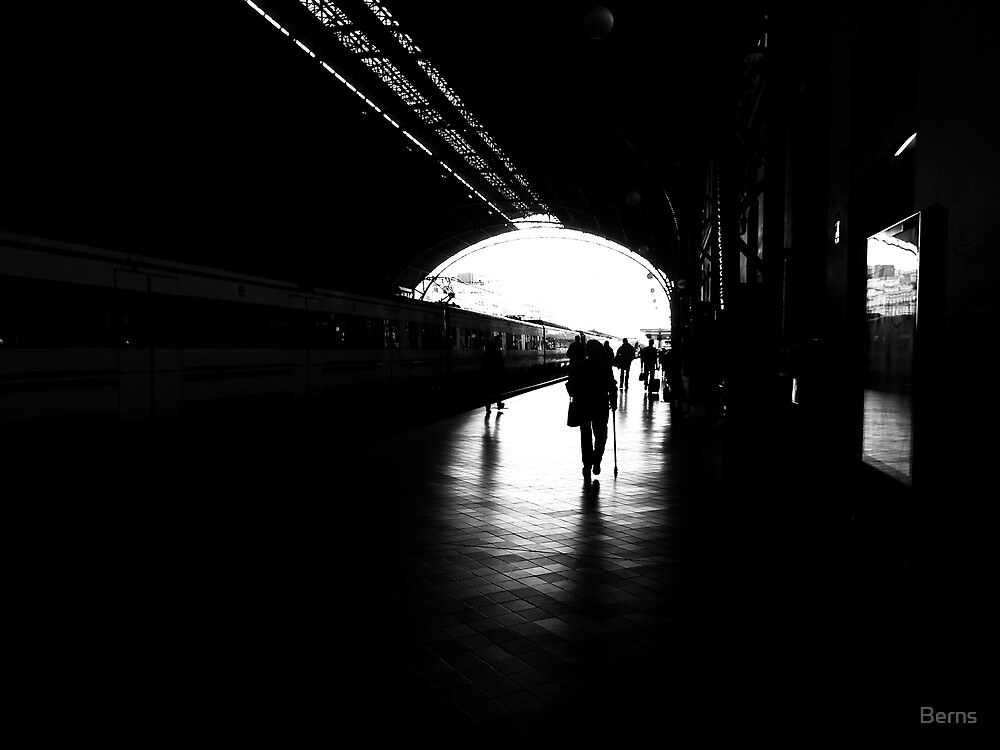 Light at the end of the tunnel..(Best Large) by Berns