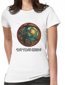 Reptiles inside Womens Fitted T-Shirt