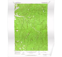 USGS Topo Map Oregon Limber Jim Creek 280519 1965 24000 Poster