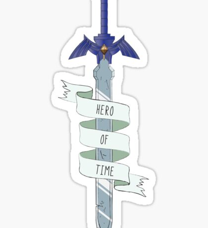 Hero Of Time Sticker