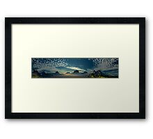 Orchestrated Sunrise  Framed Print