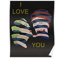 Lesvos Rose I Love You Poster