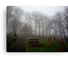 Alderney's Graveyard in the Fog Canvas Print