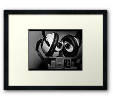hey mr dj Framed Print