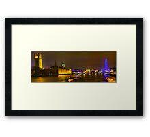 Lambeth Bridge Looking North - HDR Framed Print