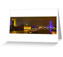 Lambeth Bridge Looking North - HDR Greeting Card