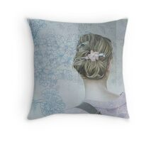 A un pezzo di cielo da te Throw Pillow